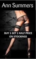 Ann Summers Deal: BUY 1 GET 1 HALF PRICE on STOCKINGS