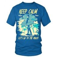 Keep Calm Beach T Shirt