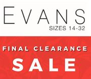 Evans plus Size Sale - Final Clearance Prices!