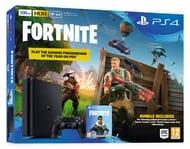 PS4 Slim 500GB Fortnite Battle Royale Bundle Console + Hidden Agenda (PlayLink )