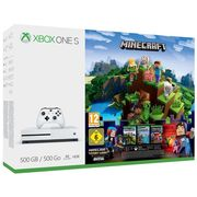 Xbox One S 500GB with Minecraft Complete Adventure Only £199.99