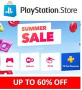 PlayStation Store Summer Sale - up to 60% off Games, Add-Ons, PSVR and PS PLus