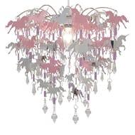 Unicorn Chandelier Children Bedroom Lamp Shade