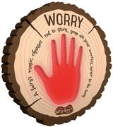 Worry Plaque Wonderful Idea for Kids.