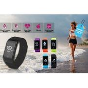 HR12 Fitness Tracker W/ Blood Pressure, Oxygen & Heart Rate Monitor - 5 Colours!