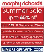 SAVE A BOMB! Irons, Kettles, Toasters, Mixers, Blenders, Vacuums & MORE OFF CODE
