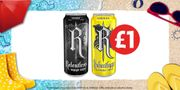 Grab a Can of Relentless for Only £1