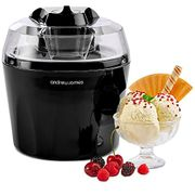 Ice Cream Maker Machine with Detachable Mixing Paddle 1.5L
