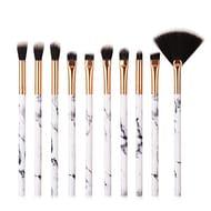 10 Piece Makeup Brush Set £1.56 Delivered
