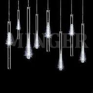 LED Meteor Shower Lights 30CM 8 Tube 240 LED