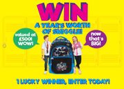 Win 1 Years worth of Smiggle