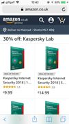 30% off Kaspersky Internet Security
