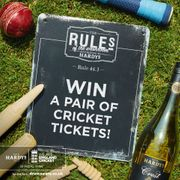 Win a Pair of Cricket Tickets!