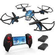 Drone with Wifi 2MP Camera (2 Batteries)