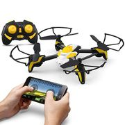 Drone with Wifi 0.3MP Camera (2 Batteries)