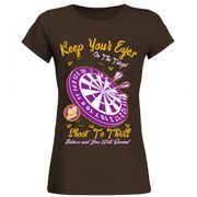 On the Target Round Neck T-Shirt Woman