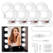 Vanity Mirror Light Kit with Dimmable Light Bulbs