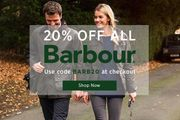 20% off All Barbour