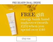 Free Gift - Energy Bank Hand Makeover Will Be Added on Orders £40+/€50+