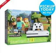 Microsoft Xbox One S 500GB White Console Minecraft Favourites Bundle £196.99