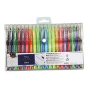 Tesco Coloured Gel and Ball Pen Set 20 Pack