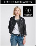 Women's LEATHER BIKER JACKETS 30% - 50% off at ALLSAINTS
