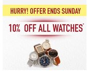 10% off Watches at H Samuel