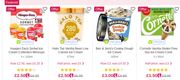 Loads of Offers on Summer Treats like Ice Lollies/ice Cream/desserts at Ocado