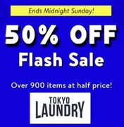 TOKYO LAUNDRY 50% off FLASH SALE – 900 Items at Half Price!