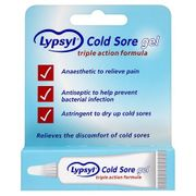 Lypsyl Cold Sore Gel 3g FREE DELIVERY