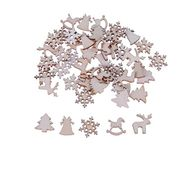 50 Wooden Shapes for Christmas Decorating