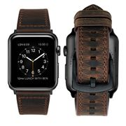 iBazal Apple Watch Series 3/ 2/ 1 Strap 42mm Strap Genuine Leather Band