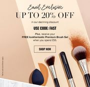 20% off Look Fantastic plus Free Gifts with Required Spend