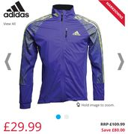 Adidas Xperior Soft Shell Jacket £29.99