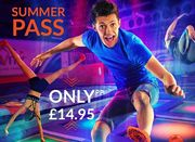 Gravity Trampoline Park Summer Pass Vaild from 18th Aug to 9th Sept Only £14.95