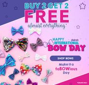 But 2 Get 2 Free on Almost Everything at Claire's