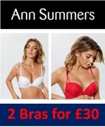 SEXY LACE LINGERIE - 2 Bras for £30 at Ann Summers
