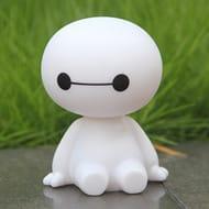 Mini Baymax Figure - Shaking Head Toy (Car Accessories)