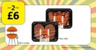 Piripiri Chicken Burgers & #Bbq Chicken Drumsticks, Any 2 for £6