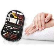 18pc Manicure & Makeup Brush Set