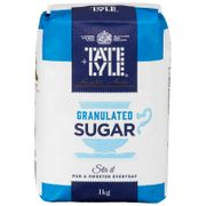 Tate & Lyle Cane Sugar Granulated 1kg