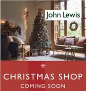 When does the John Lewis Christmas Shop Open in 2018?