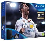 PS4 Console: 500GB Slim with FIFA 18 Only £249.99