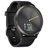 Garmin Vivomove HR Sport Smartwatch, Large, Black
