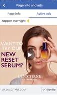 Free L'Occitane Overnight Reset Serum