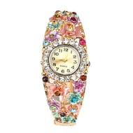 Sanwood Crystal Bracelet Wrist Watch (Multi-Color) FREE DELIVERY
