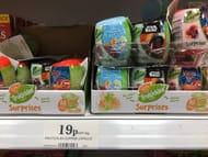 Fruittickles Suprise Capsules - Instore Liverpool Home Bargains