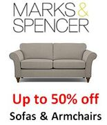 M&S - up to 50% off Sofas and Armchairs at M&S