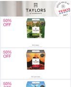 £1 Taylor's of Harrogate Coffee Bags with Shopmium Cashback