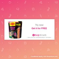 Maggi Fusian Pot, Try for Free (Shopmium)